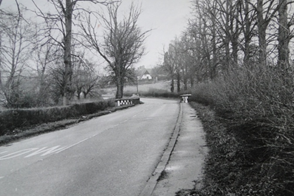 The bridge in the 1950's viewed from the south